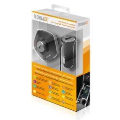 Sistema Vivavoce Bluetooth da Auto per Smartphone e Ricarica USB, 4676