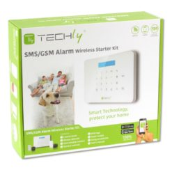 Sistema di allarme SMS/GSM wireless TLY ALARM1