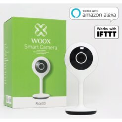 Smart Camera WiFi 1080p HD Controllo Vocale Alexa, R4024