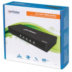 Splitter HDMI 2.0 4K UHD 3D 4 vie