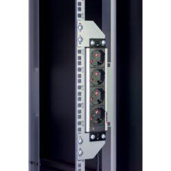 Staffe per montaggio verticale su montanti rack