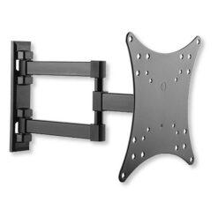 Supporto a Muro per TV LED LCD 23-42'' Inclinabile 3 Snodi Nero