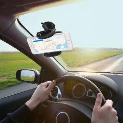Supporto da Auto per iPhone e Smartphone Universale con Ventosa