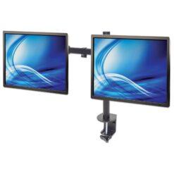 Supporto da Scrivania per 2 Monitor 13-32'' con Morsetto