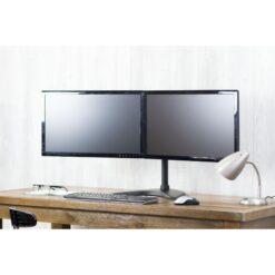 Supporto da scrivania per 2 Monitor 13-32'' con base