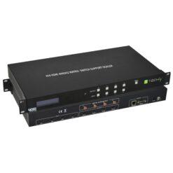 Switch Matrix HDMI 4X4 4K@60Hz con Funzione Scaler