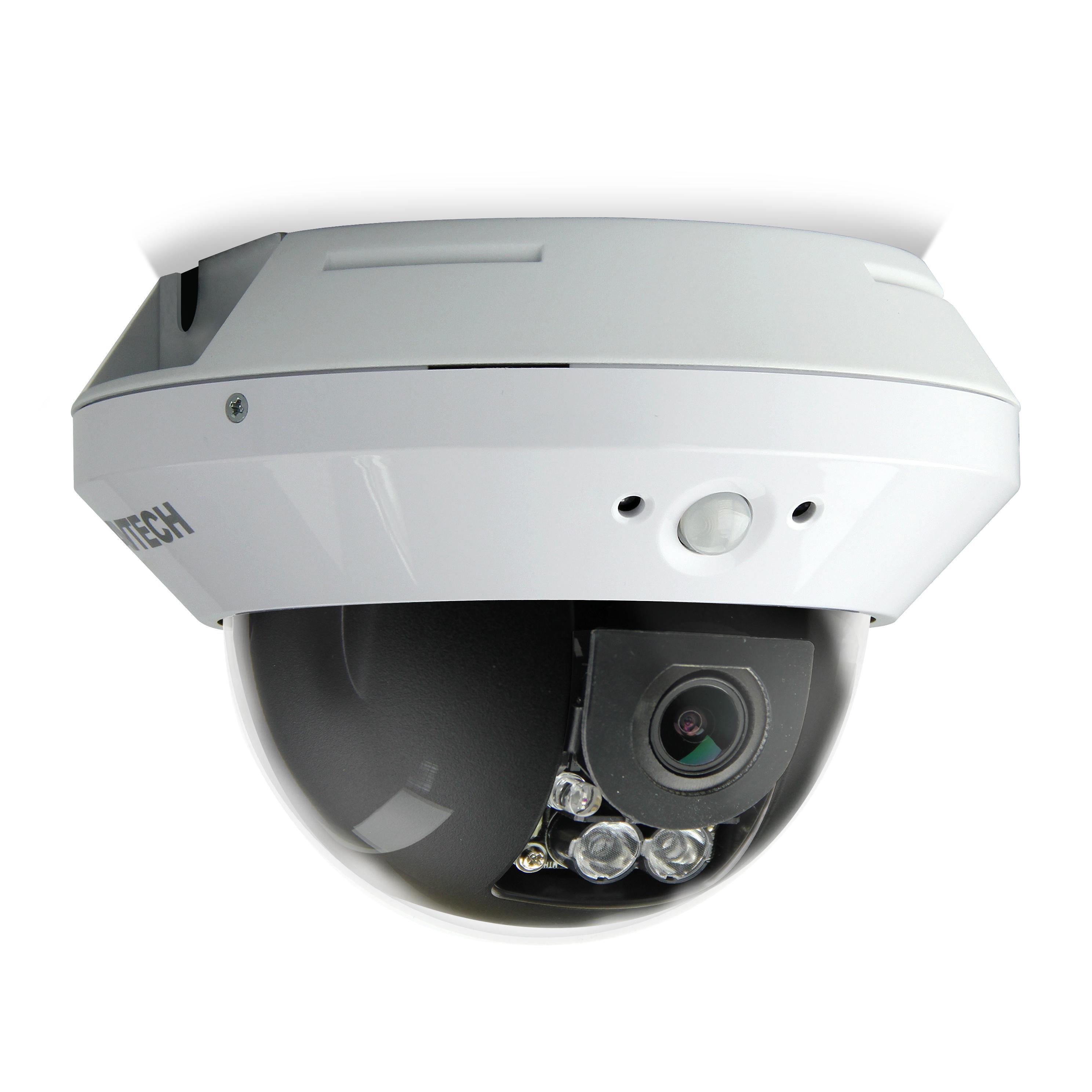 Telecamera Dome IP PoE DWDR IR da Soffitto Full HD 2MP AVM1203