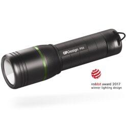 Torcia Cree LED XP-G2 300lm idrorepellente alluminio aeronautico P53