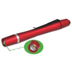 Torcia LED tascabile rossa