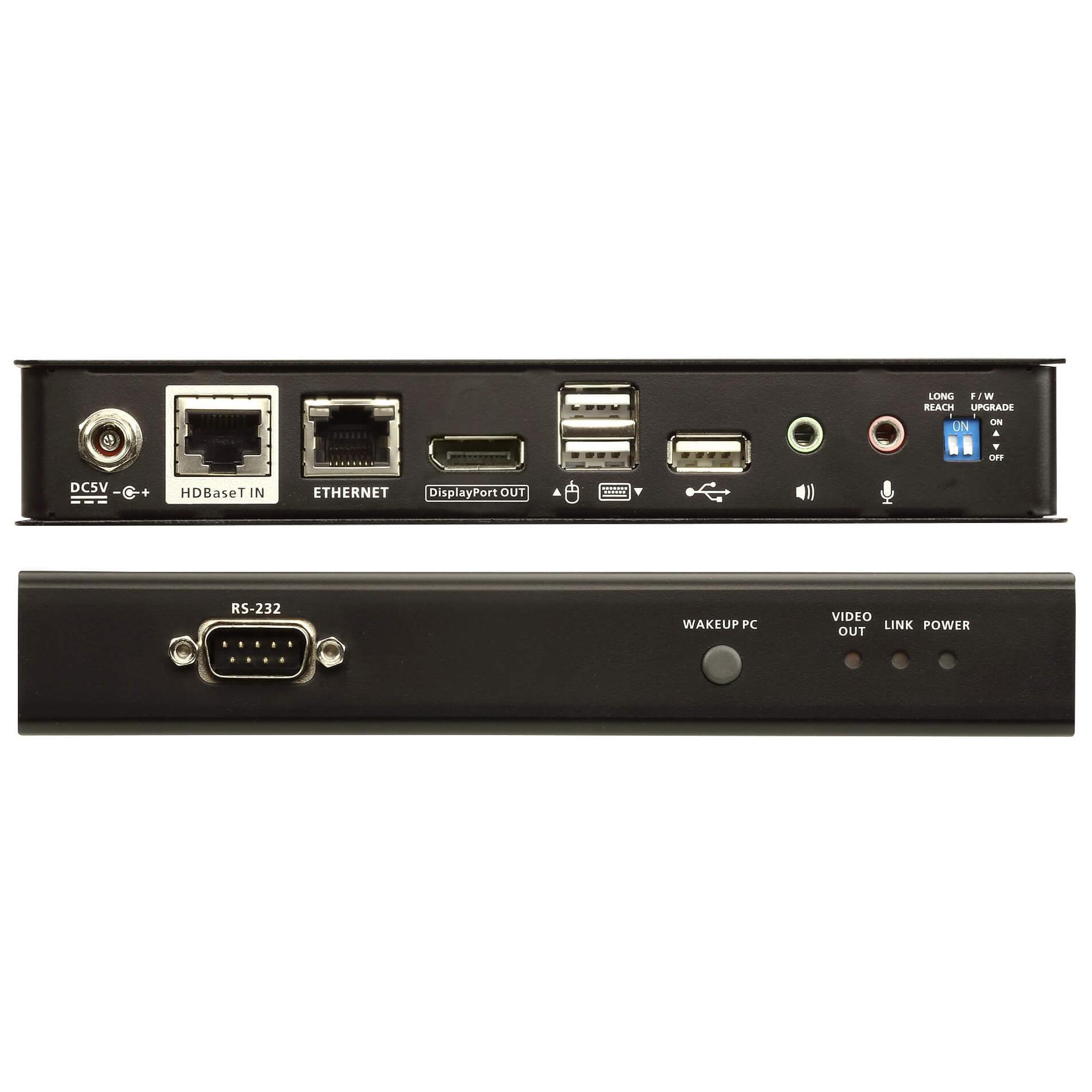 Unità Remota Estensore KVM USB DisplayPort HDBaseT 2.0, CE920R