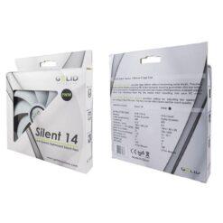 Ventola Silent 140x140x25 con Controllo Intelligente PWM
