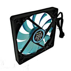 Ventola Slim 120x120x15,8 12V PL Blu