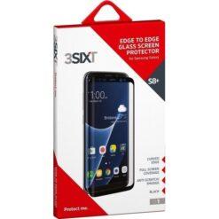 Vetro Protettivo CurvedGlass Nero per Samsung Galaxy S8 Plus