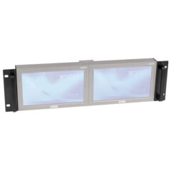 "19"" bracket for 2x DLD-84, 8.4"" LCD display"
