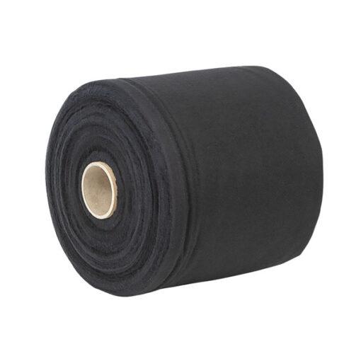 Deko-Molton, black, roll, 20cm 60m x 20cm