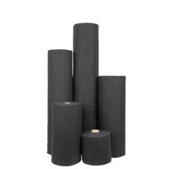 Deko-Molton, black, roll, 40cm 60m x 40cm
