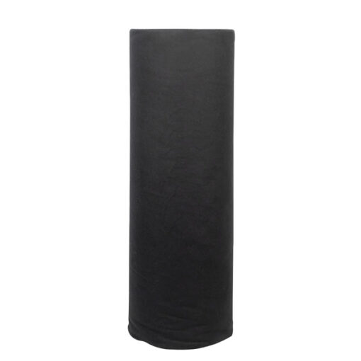 Deko-Molton, black, roll, 60cm 60m x 60cm