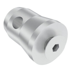 Half Conical Connector with thread M10 incl. Bolt for Baseplate Pro-30 F Truss