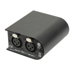 Quick DMX D1024 2x512 Canali, frequenza di aggiornamento 40Hz