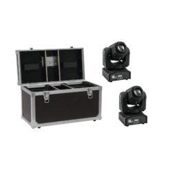 EUROLITE Set 2x LED TMH-17 Spot + Case