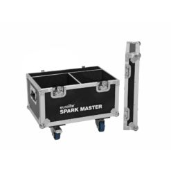 ROADINGER Flightcase 2x Spark Master with wheels