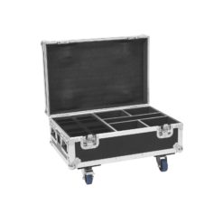ROADINGER Flightcase 4x AKKU IP UP-4 Plus HCL Spot WDMX with Charging Function