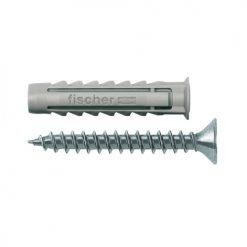 Adam Hall Accessories FISX 6 X 30 S - Tassello a espansione SX 6 x 30 S con collare e vite