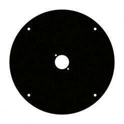 Adam Hall Cables 70225 D 1 - Piastra anteriore per tamburo avvolgicavo 70225 con 1 x foro tipo D