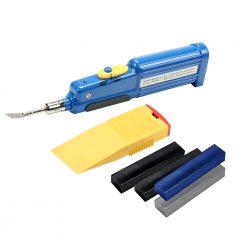 Adam Hall Hardware 0135 KIT - Kit  di riparazione di Flightcase nero/grigio/blu