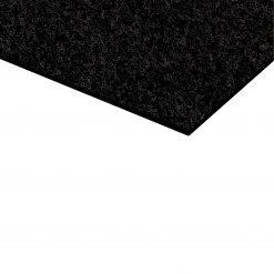 Adam Hall Hardware 0177 - Feltro agugliato autoadesivo nero