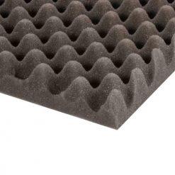 Adam Hall Hardware 019450 - Fonoassorbente bugnato grigio 50 mm