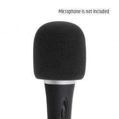 Adam Hall Stands D 913 BLK - Protezione anti-vento nera per Microfoni