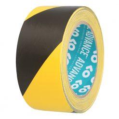 Advance Tapes 5803 - Nastro di Segnalazione nero/giallo 50mm x 33m