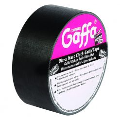 Advance Tapes 5805 BLK - Nastro Adesivo Gaffer opaco nero 50mm x 50m