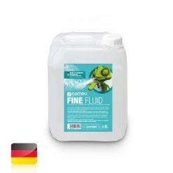 Cameo FINE FLUID 5 L - Liquido effetto nebbia con densità molto fine e durata molto lunga da 5 l