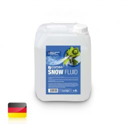 Cameo SNOW FLUID 5 L - Liquido speciale per macchine effetto neve per la produzione di schiuma da 5 l