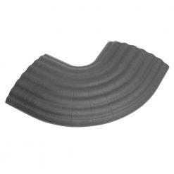 Defender OFFICE C GREY - Curva a 90° grigia per canalina passacavo 85160 a 4 canaline