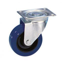 Guitel 37023 - Ruota Orientabile 100 mm con Ruota blu