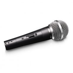 LD Systems D 1006 - Microfono dinamico per Canto con Interruttore