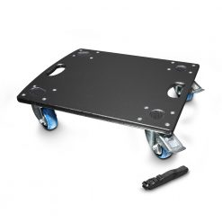 LD Systems DAVE GT 15 CB - Pannello con Ruote per LDDAVE15G3 e LDGTSUB15A con Cinghia di Fissaggio