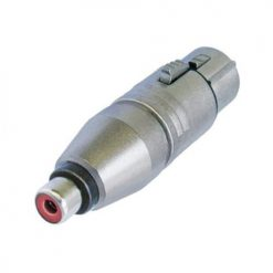 Neutrik 2FPMF - XLR Adapter Cable Socket 3 Pin – Phono (RCA) Socket, female
