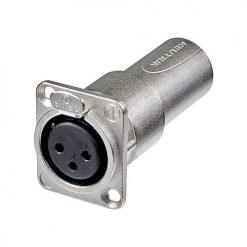 Neutrik 3FDM - Inline adapter XLR female to XLR male