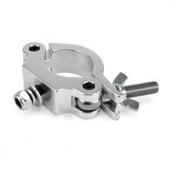 RIGGATEC 400200005 - Halfcoupler Slim Silver max. load 200kg (48 - 51 mm)