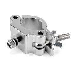 RIGGATEC 400200010 - Halfcoupler Heavy Silver max. load 500kg (48 - 51 mm)