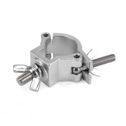 RIGGATEC 400200968 - Halfcoupler Small Silver max. 75kg (32 - 35 mm) stainless steel