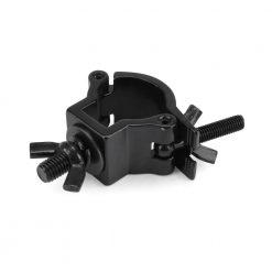 RIGGATEC 400200970 - Half Coupler piccolo colore nero fino a 75 kg (32-35 mm) in acciaio inox