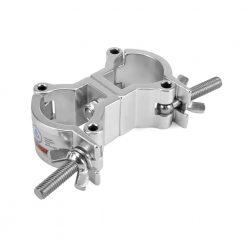 RIGGATEC 400200975 - Swivel Coupler Slim Silver max. 50kg (32-35 mm)