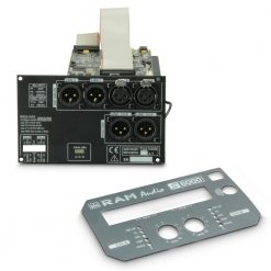 Ram Audio DSP 22 S - Modulo DSP per finali di potenza a 2 canali in serie S
