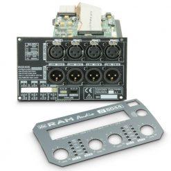 Ram Audio DSP 44 S - Modulo DSP per finali di potenza a 4 canali in serie S