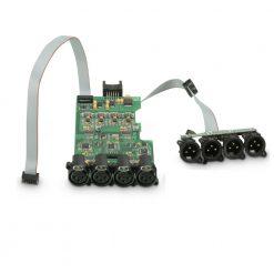 Ram Audio DSP 44 W - Modulo DSP per finali di potenza a 4 canali in serie W